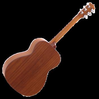 Foto: Leho OMV Akustikgitarre - Rückseite