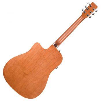 Foto: A&L Cedar Antique Burst EQ - Akustikgitarren - Ansicht Rückseite