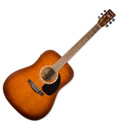 Foto: A&L Cedar Antique Burst EQ - Akustikgitarren - Ansicht Front
