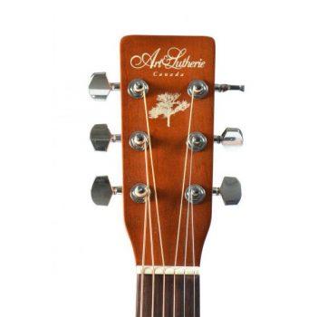 Foto: A&L Cedar Antique Burst EQ - Akustikgitarren - Ansicht Hals
