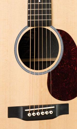 Foto: Martin Akustik DCX1E Dreadnought - Akustikgitarre - Ansicht Front Detail