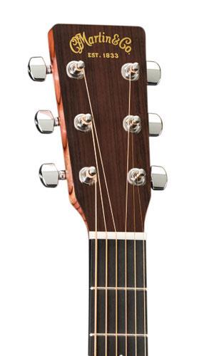 Foto: Martin Akustik DCX1E Dreadnought - Akustikgitarre - Ansicht Kopf