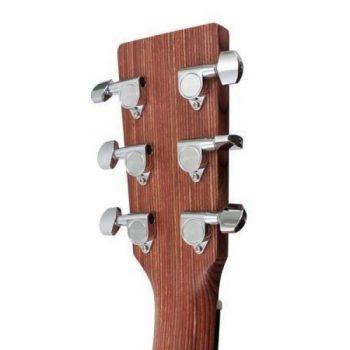 Foto: Martin DRS-2 Road-Serie - Akustikgitarre mit Tonabnehmer - Ansicht Kopf Rückseite