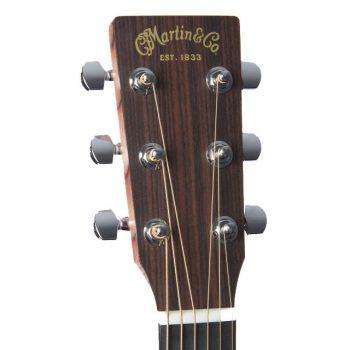 Foto: Martin DRS-2 Road-Serie - Akustikgitarre mit Tonabnehmer - Ansicht Kopf Front