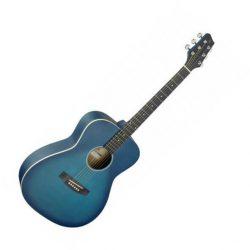 Foto: Stagg SA 35 A-TB - blau - Akustikgitarre - Ansicht Front