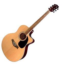 Foto: T. Burton Riverside Akustikgitarre Jumboform - Frontansicht