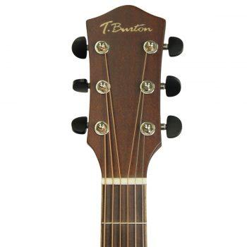 Foto: T.Burton SE2006 WCE - Western/Akustikgitarren mit Tonabnehmer - Ansicht Kopf