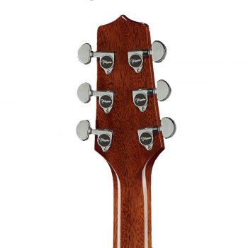 Foto: Takamine EF-261 SAN FX-Artist Legacy - Zedern/Mahagoni Akustikgitarre - Ansicht Kopf Rückseite