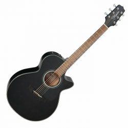 Foto: Takamine GF30CE-BLK schwarz - Akustikgitarren mit Tonabnehmer - Ansicht Front