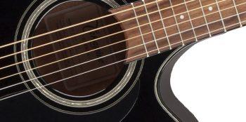Foto: Takamine GF30CE-BLK G-Series G30 - Akustikgitarren - Ansicht Schallloch