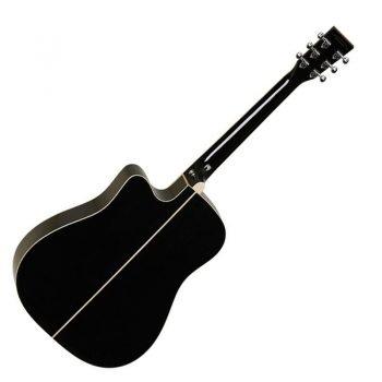 Foto: Tanglewood TW28 SLBK CE - Akustikgitarren mit Tonabnehmer - Ansicht Rückseite