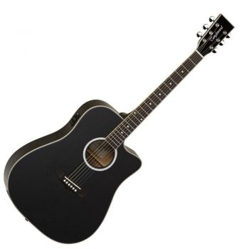 Foto: Tanglewood TW28 SLBK CE - Akustikgitarren mit Tonabnehmer - Ansicht Front