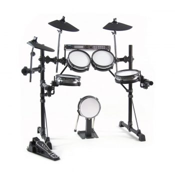 Foto: Alesis DM5 Drummodul am Drumset - Front