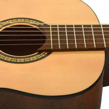 Foto: Klassikgitarre 1/2 Größe - Ansicht Schallloch