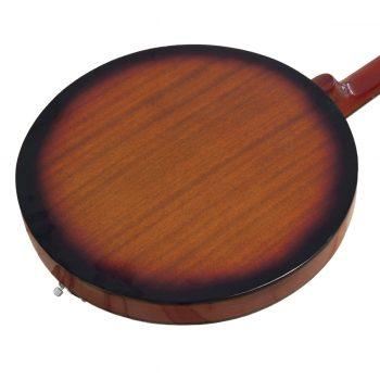 Foto: Banjo 4-saitig, Tenorbanjo - Rückseite