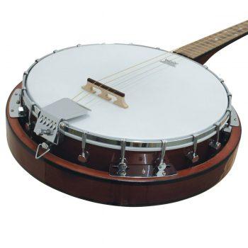 Foto: Banjo 4-saitig, Tenorbanjo - Front Detail Korpus
