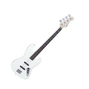 Foto: Bassgitarre - white - Front