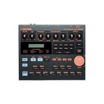 Foto: Boss DR202 drum machine - Top