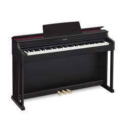 Foto: Casio AP-470 Digitalpiano Schwarz Tasteninstrumente - Front links
