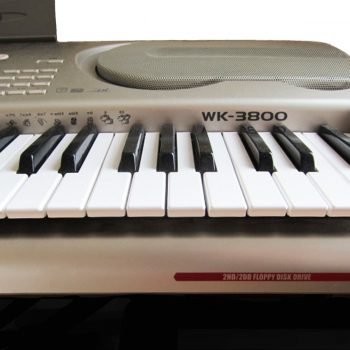 Foto: Casio WK 3800 High Performance Keyboard Tasteninstrumente - Front Detail