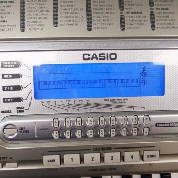 Foto: Casio WK 3800 High Performance Keyboard Tasteninstrumente - Front Detail Display 2