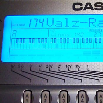 Foto: Casio WK 3800 High Performance Keyboard Tasteninstrumente - Front Detail Display