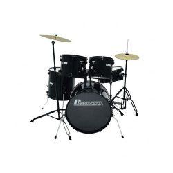 Foto: Drumset schwarz Normalgröße - Front