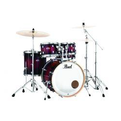 Foto: Pearl Drumset mit Becken - Front