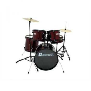 Foto: Drumset rot Standardausführung - Front