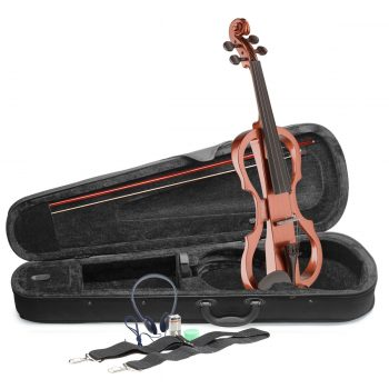 Foto: E-Violine - Garnitur mit Koffer - Front