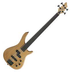Foto: Fretless Bassgitarre - natur - Front