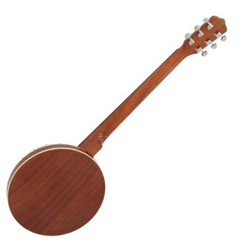 Foto: Gitarren-Banjo, Banjo 6-saitig - Rückseite