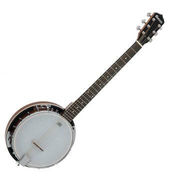 Foto: Gitarren-Banjo, Banjo 6-saitig - Front
