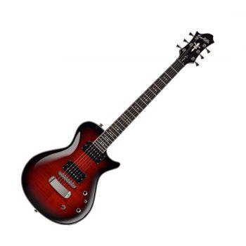 Foto: Hagstrom Ultra Swede Red - E-Gitarre - Front