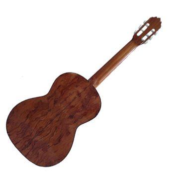 Foto: Joan Cashimira Modell 20 - Klassikgitarre - Ansicht Rückseite