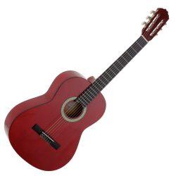 Foto: Laredo Classic - Klassikgitarre - Ansicht Front, rot