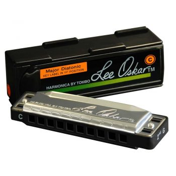 Foto: Lee Oskar Major Diatonic Harmonica mit Box - Front