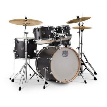 Foto: Mapex Drumset Storm mit Becken ebony blue gain - Front