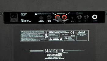 Foto: Marshall Haze40 Gitarrenamp/ Gitarrenverstärker - Rückseite Detail