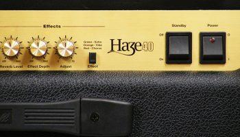 Foto: Marshall Haze40 Gitarrenamp/ Gitarrenverstärker - Front Detail 1