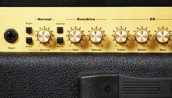 Foto: Marshall Haze40 Gitarrenamp/ Gitarrenverstärker - Front Detail 2