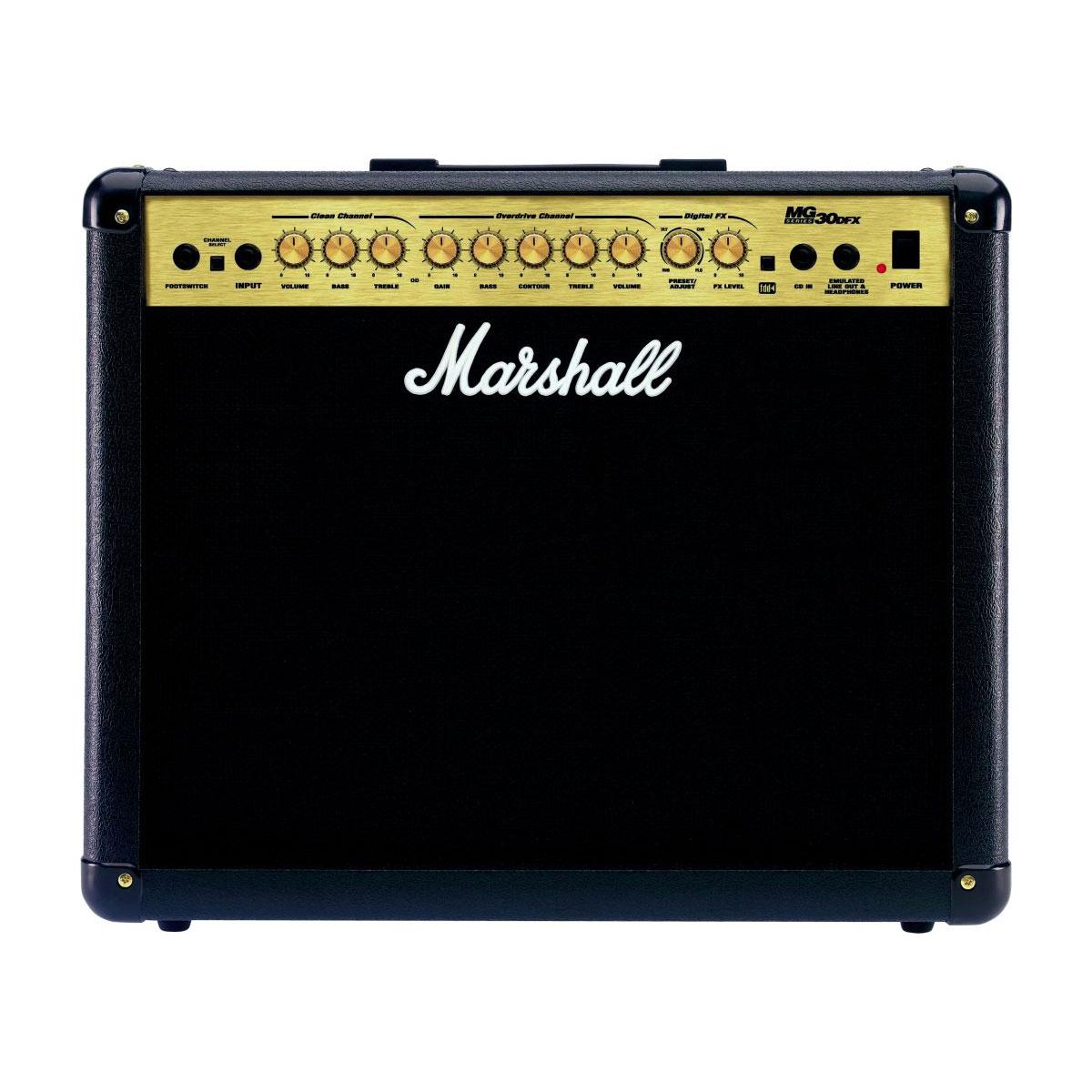 Marshall MG30DFX Gitarrenamp Gitarrenverstärker • CONCERT ...