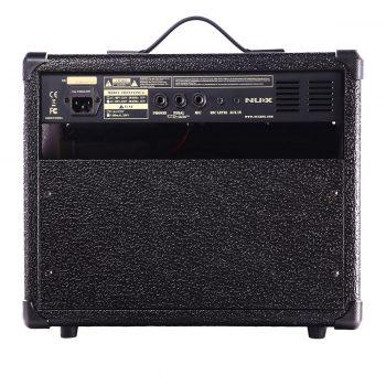 Foto: NUX Gitarrenamp/ Gitarrenverstärker - Rückseite