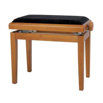 Foto: Pianobank Klavierbank Eiche matt - Front