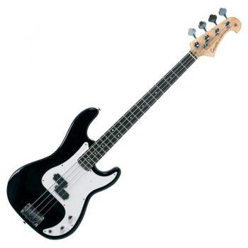 Foto: Precisionbass - Bassgitarre black - Front