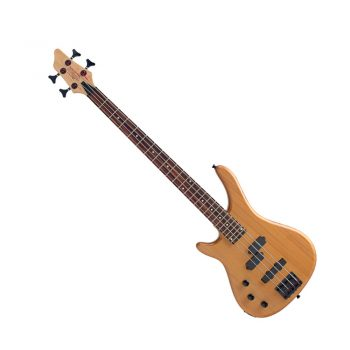 Foto: Stagg Linkshänder Bassgitarre - natur - Front