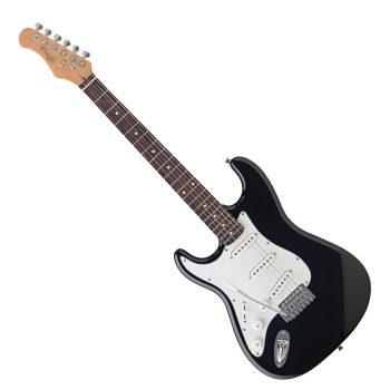 Foto: Strat E-Gitarre zum kleinen Preis - left hand - Front