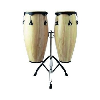 Foto: Congas mit stabilem Stativ - Front