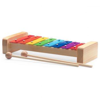 Foto: Glockenspiel klein mit Schlägel für Kinder - Seite Top