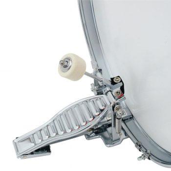 Foto: Kinderschlagzeug - Pedal Bassdrum an der großen Trommel - Detailansicht